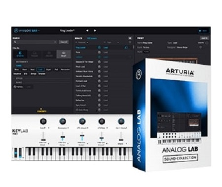 Arturia Analog Lab 4 v4.2.0.3820 Crack [Win & Mac] Full Version
