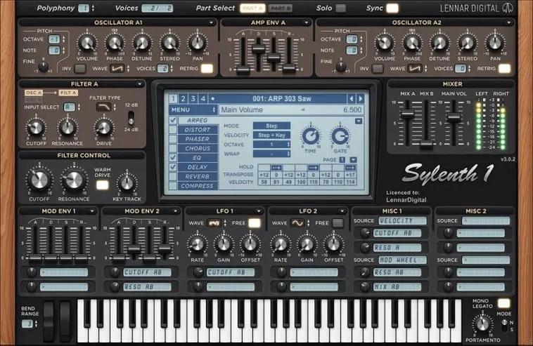 Sylenth1 (Mac) Crack Free Download (VST)