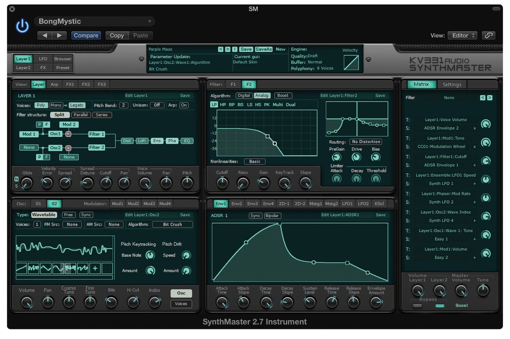 SynthMaster 2.9.8 Crack (Mac) Free Download