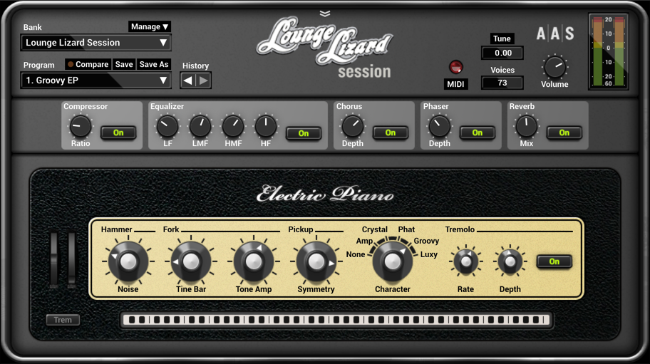 Lounge Lizard 4 VST Crack plus Full Torrent