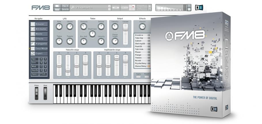 Native Instruments FM8 Crack Free Download