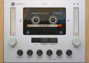 Wavesfactory Cassette v1.0.4 Crack VST, VST3, AAX x64
