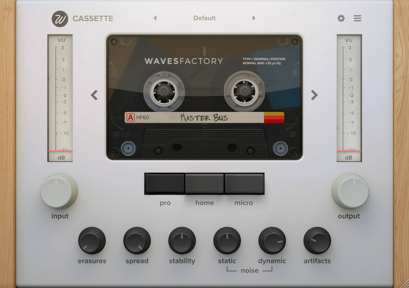Wavesfactory – Cassette 1.0.4 VST, VST3, AAX x64 Crack