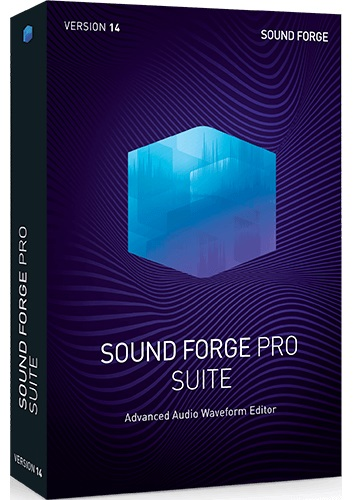 MAGIX SOUND FORGE Pro Suite 14 Crack + Serial Number