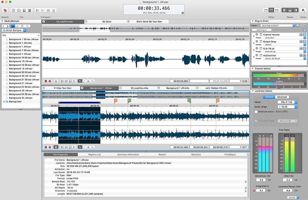 MAGIX SOUND FORGE Pro Suite 14 Mac Crack