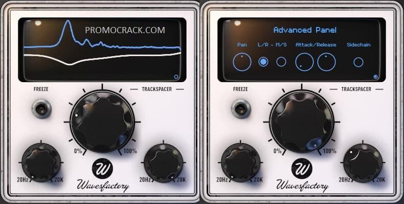 Wavesfactory - TrackSpacer v2.5.7 VST Crack plus (Win) Free Download