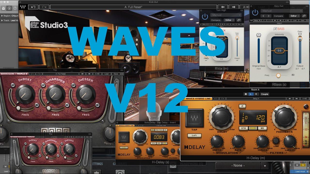 Waves v12 Bundle Crack (Win) 2021 Free Download