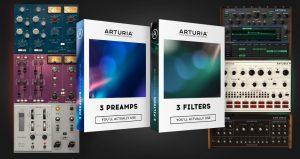Arturia 3 Filters & 3 Preamps (Mac) Crack Free Download