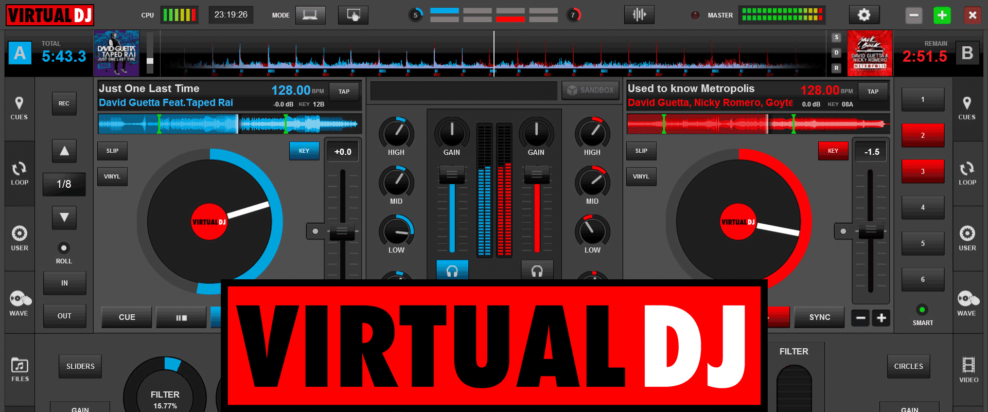 VirtualDJ 9 B6255 Crack Full Version 2021 Free Download