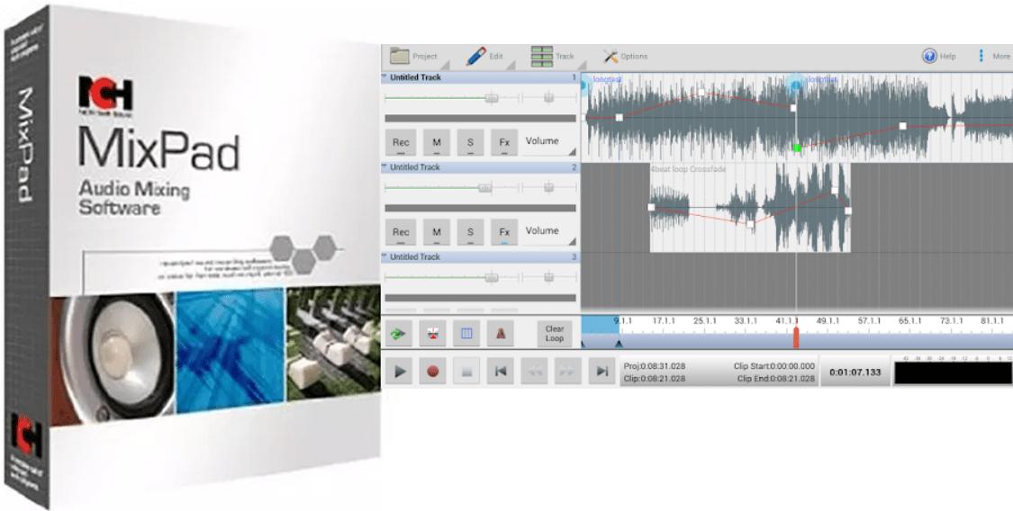 NCH MixPad Crack Full version