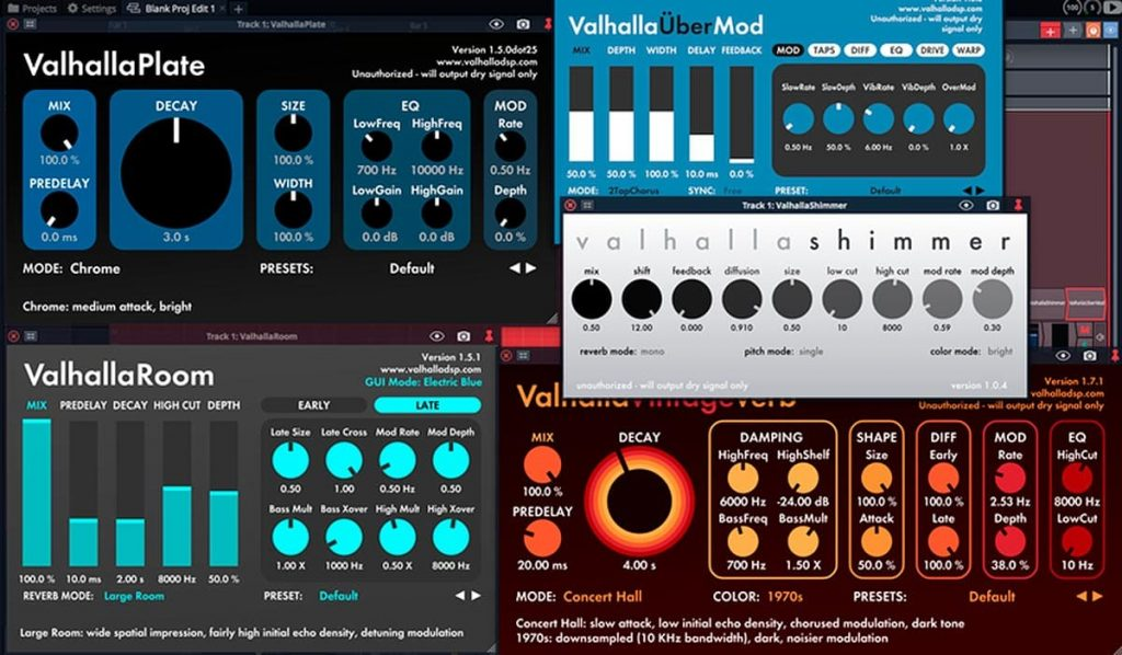 ValhallaDSP Bundle 2021.4 Full Version