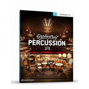 Orchestral Percussion SDX Crack + License Key Free Download 2022